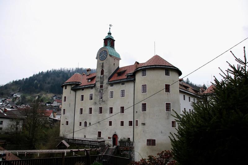 Gewerkenegg castle Idrija Slovenia