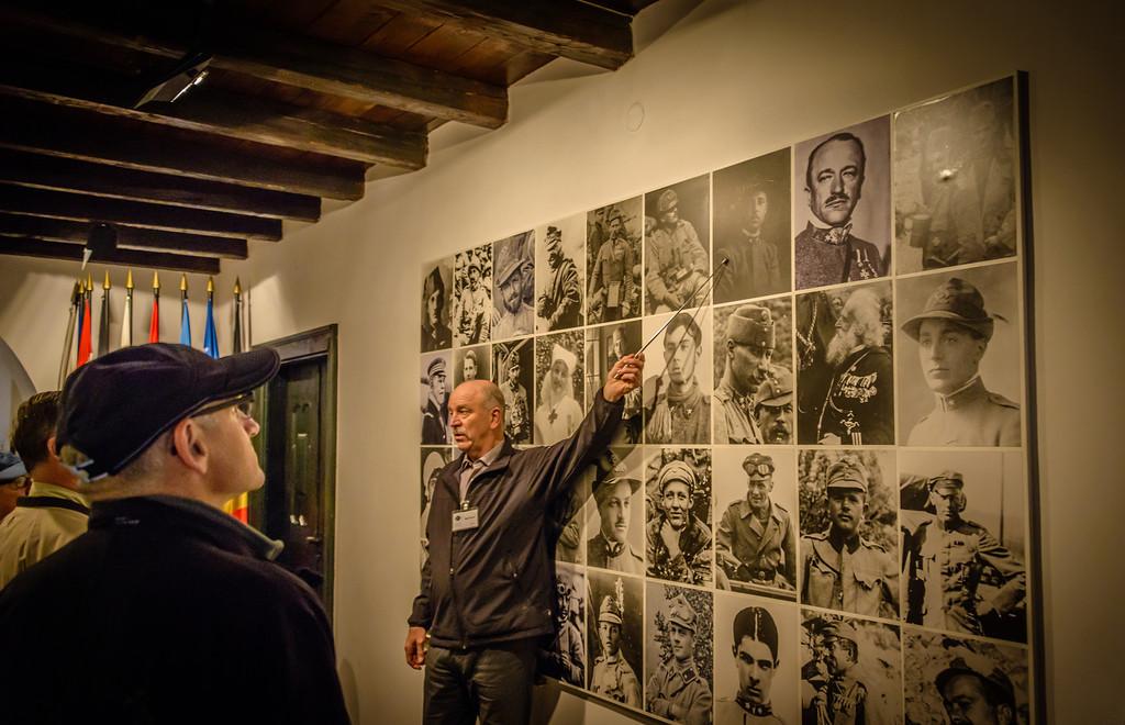 Curator, Kobarid Museum