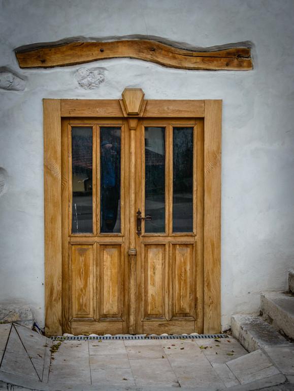 Door in Kobaird