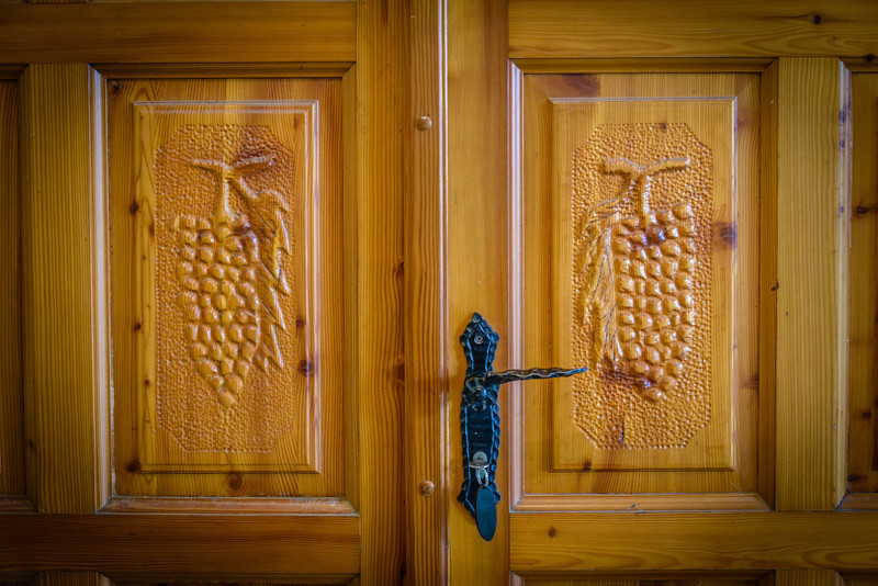 Grape Vine Carved Doors