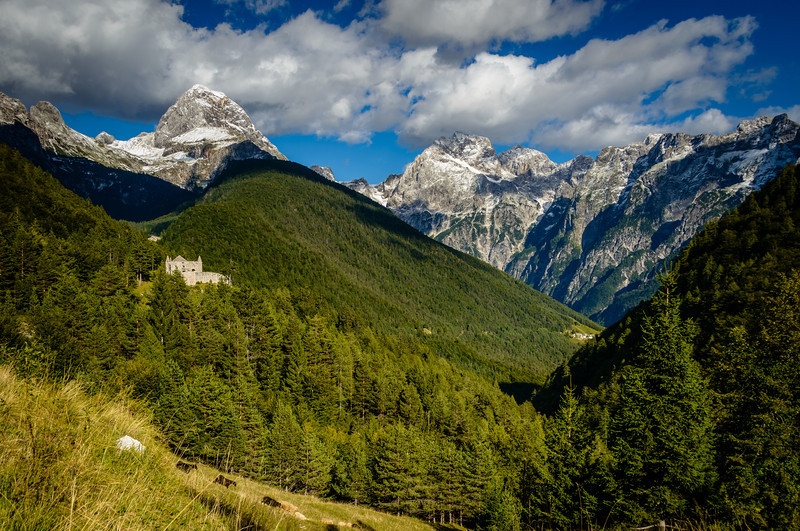 View of Julian Alps Near KranJska Gora, Slovenia'