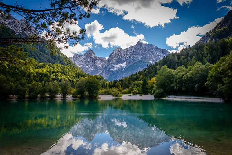 Lake Jasna Near Julian Alps