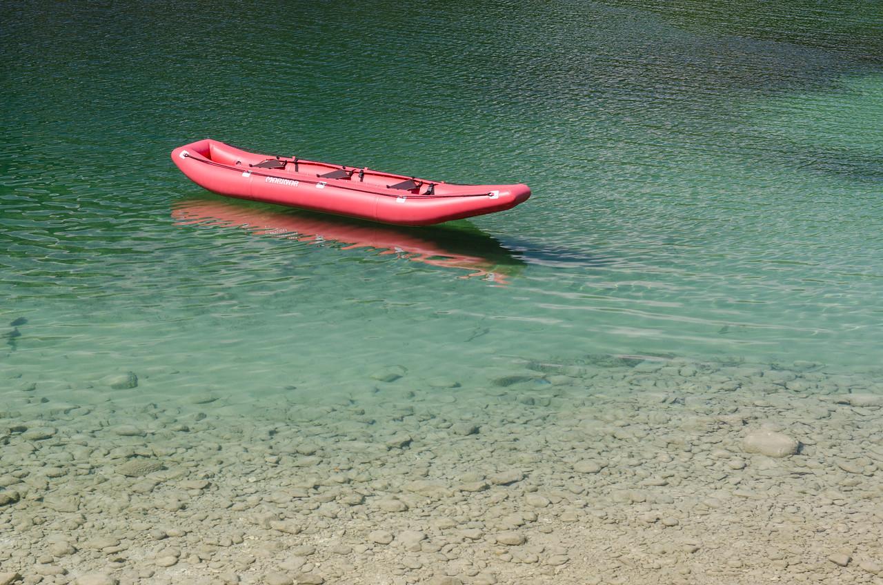 Kayak, Lake Bohinj.