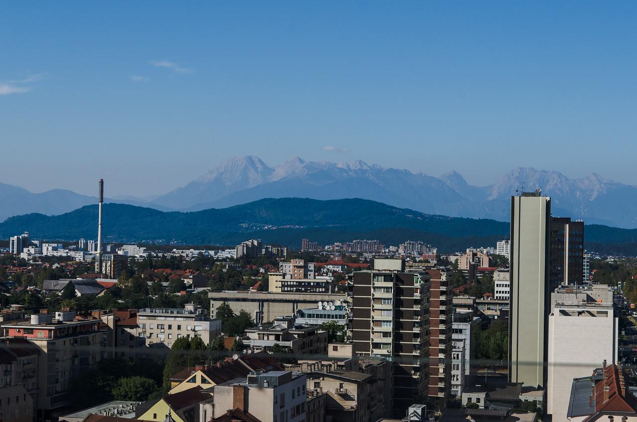 "The Julian Alps from ""The Skyscraper."""