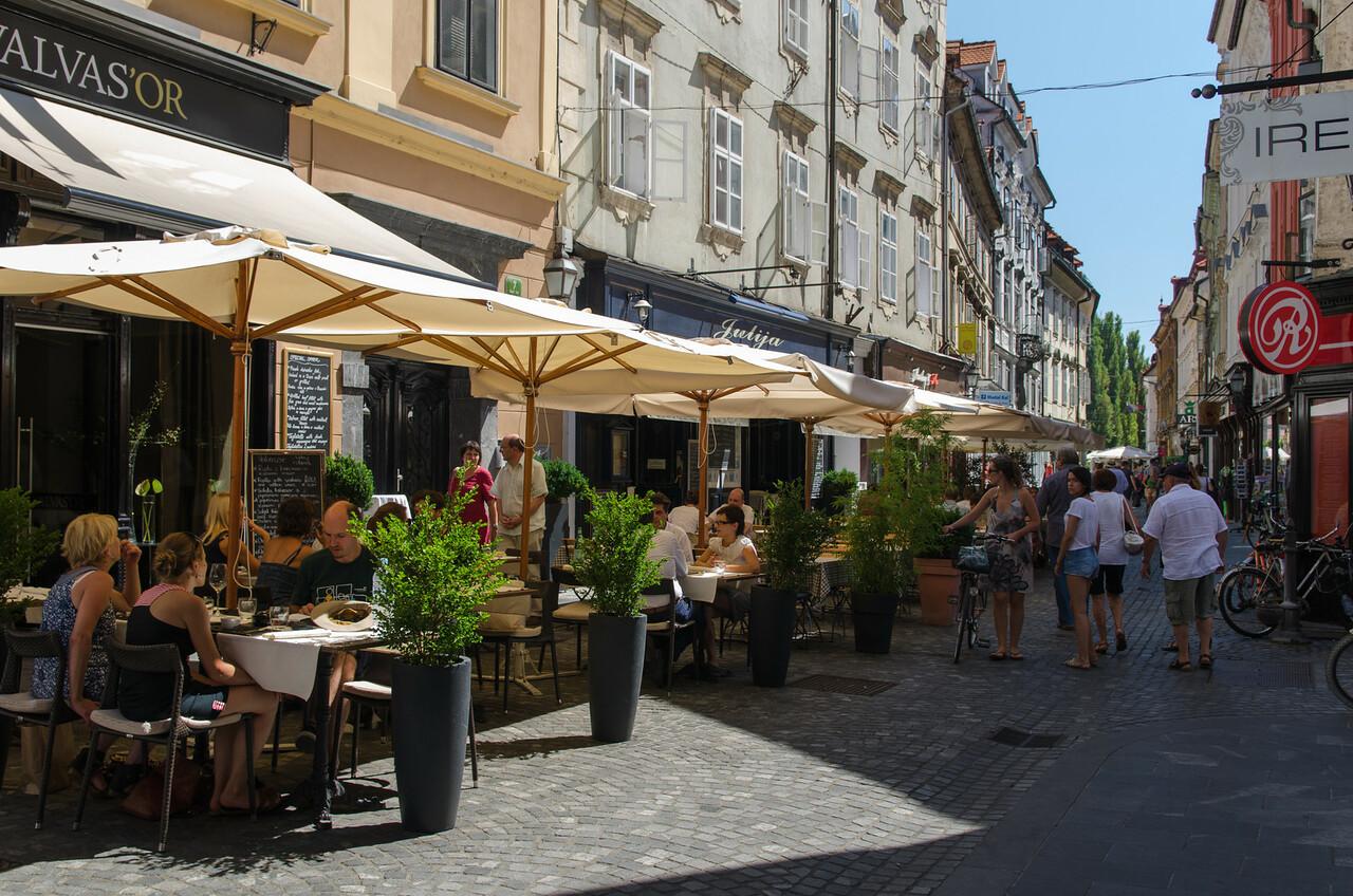 Great street life.