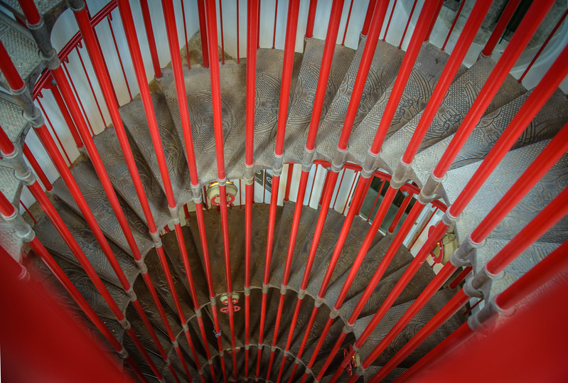 Staircase in Ljubljana Castle Tower