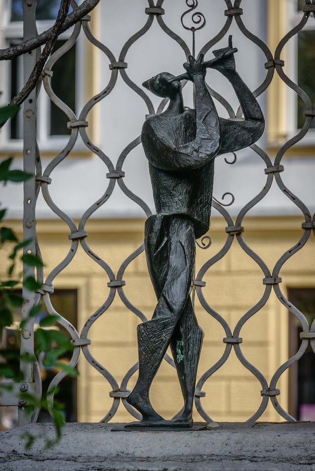 Sculpture at Festival Ljubljana
