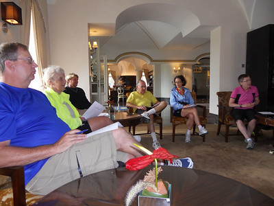 Morning meeting in Hotel Schloss Velden