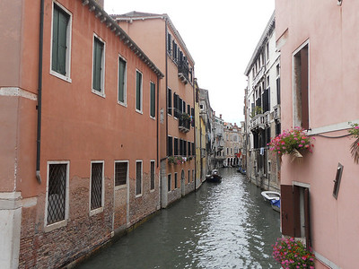 The streets of Venice.