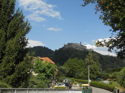 Castle near Ossiacher Lake in Austria.
