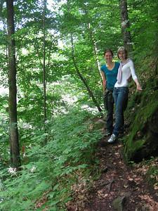 Hiking with Karmen