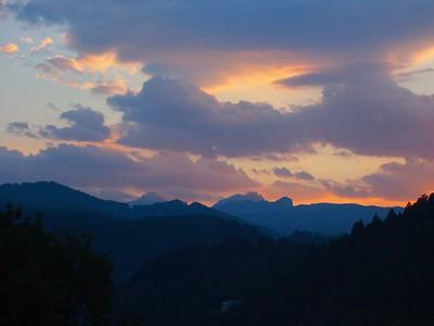 Slovenia sunset