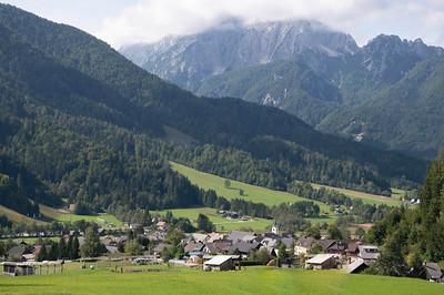 NW Slovenia; Julian Alps