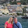 And we're off! Cruising away from Positano