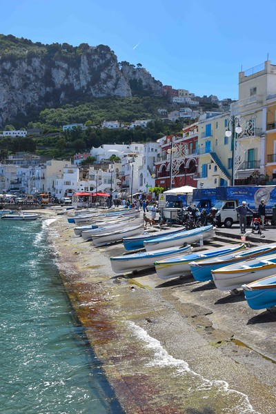 Perfect place for a lunch stop in Capri