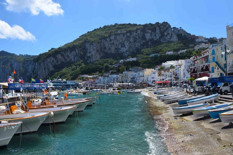 Boats in Capri
