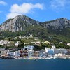 First views of Capri from the ferry