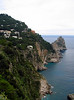<center>Shoreline and I Faraglioni    <br><br>Capri, Italy</center>