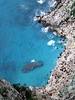 <center>Blue Water Lines the Shore    <br><br>Capri, Italy</center>
