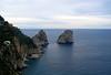 <center>I Faraglioni Rocks Off shore    <br><br>Capri, Italy</center>