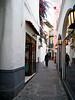 <center>Narrow Lanes and Bright Flowers    <br><br>Capri, Italy</center>
