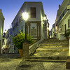 Frigiliana Street at Night