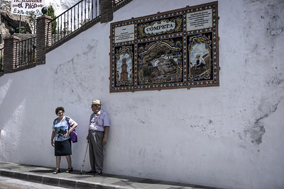 Competa Tiled Wall Display