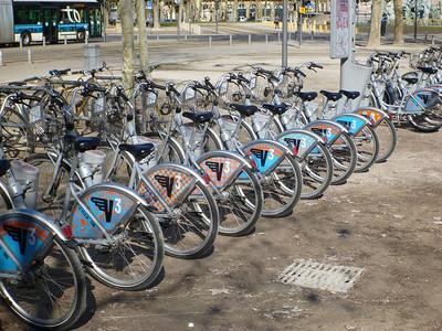 Bike sharing: VCub
