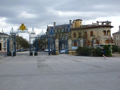 Entrance to the Parc Bordelais