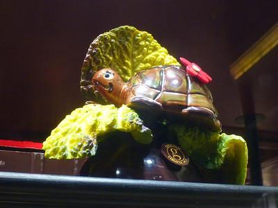 Chocolate tortoise