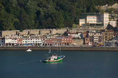 fishing boat San Sebastian