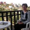 Sp 3764 op het balkon van ons appartement in Cumbres Verdes