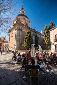 cafe at Plaza de los Carros