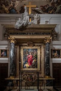 El Greco paintings El Salvador El Expolio de Cristo & Lagrimas de San Pedro