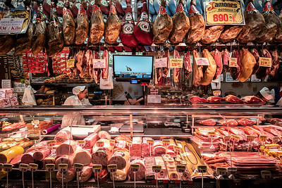 meats in Museo del Jamon