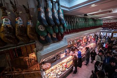 hanging hams upper floor Ham Museum