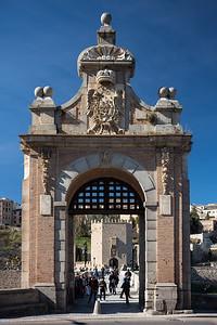 gateway to Puente de Alcantara Toledo