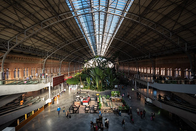 interior Atocha Railway Station