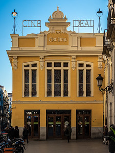 Cine Ideal 1916 Madrid