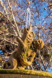 fish fountain Paseo ddel Prado