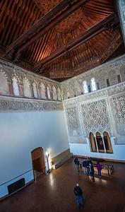 anctuary Samuel Halevi Abulafia synagogue now El Transito de Nuestra Senora