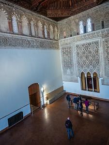 hall Sinagoga del Transito Toledo