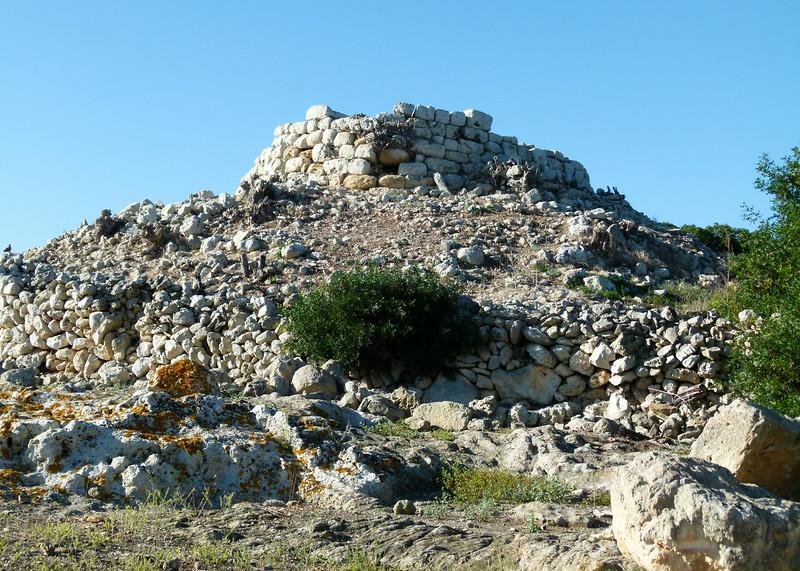 Stone ruins at Torralba D'en Salord