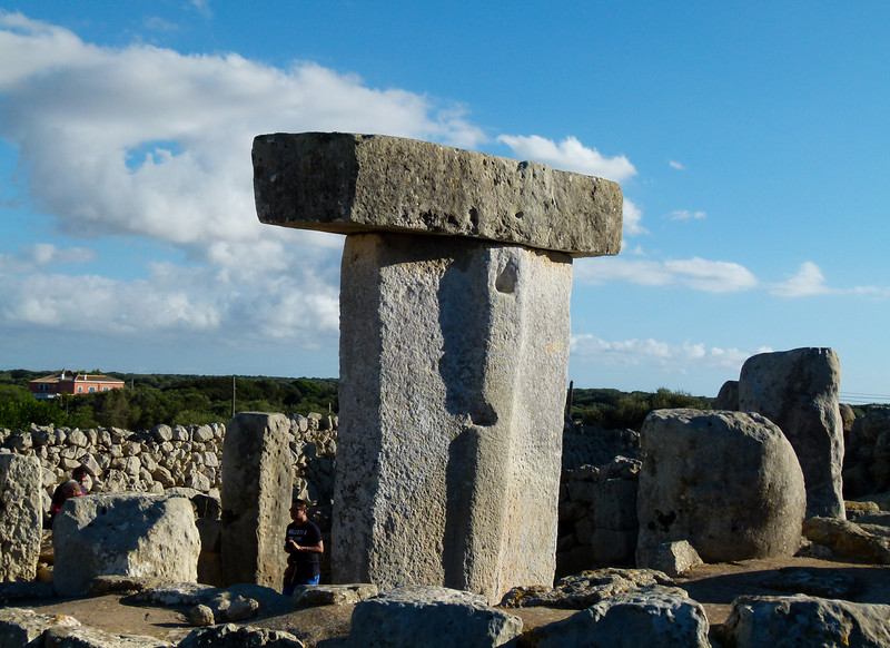 Bronze age monument on Menorca