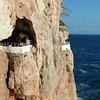 Cliff at Cova D'en Xoroi