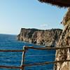 View from Cova D'en Xoroi on Menorca