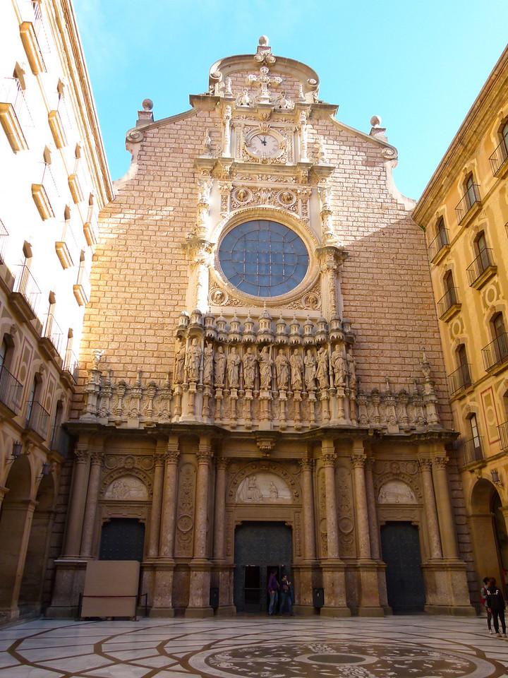 Virgin of Montserrat sanctuary