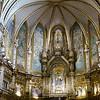 Golden altar and Black Madonna