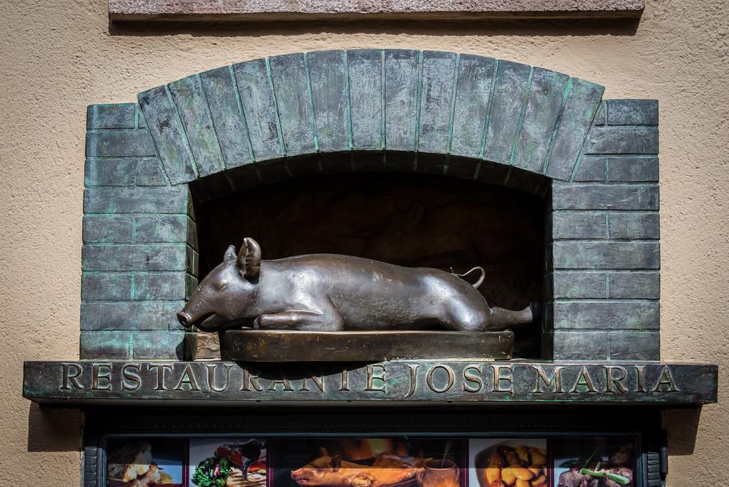 Home of Roast Suckling Pig Segovia, Spain