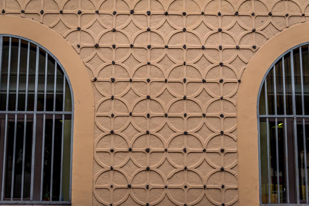 Decorative stucco Arabic-style Segovia, Spain